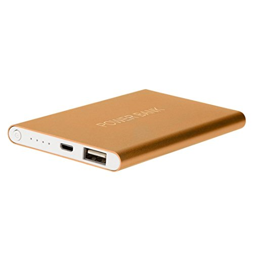 Winkey 12000 mAh, Power Bank Ultrathin Tragbare USB Externe Ladegerät Power Bank für Handy