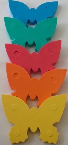 Preisvergleich Produktbild Auftriebshilfe Schwimmbrett Schwimmspaß Schmetterling 390x300x38mm GELB NEU&Original von Babysplash