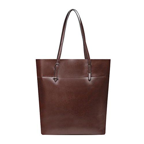 SSMK Shoulder Bag, Borsa tote donna coffee color