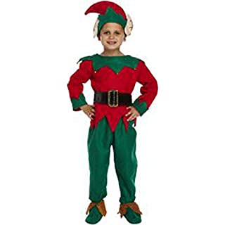 AUK Kids Traditioinal Christmas Spescial Occassion Costumes, Dress Up Santa Marry Costumes