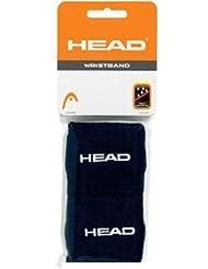 Head Schweißband 2er-Pack kurz schwarz Schweißbänder