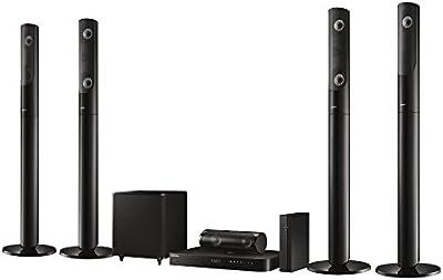Samsung HT-J5550W - Equipo de Home Cinema de 1000 W (USB 2.0, Blu-Ray video, VCD, Bluetooth + WiFi), negro