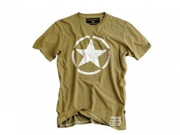 Alpha Industries Herren Shirt Star T Oliv Gr. XXXXL