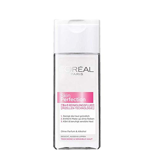 L'Oreal Skin Perfection 3in1 Reinigungsfluid 200ml/Gesichtsreinigung