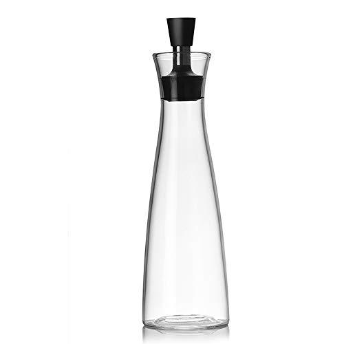 Olivenöl-Spender.Glasflaschen und Ausgießer Set für Küche,Öl & Essig Menage/Dekanter,Mit Tropffreies Deckelausgießer,Flüssiger Gewürzbehälter,Glasdekanter Für Küche,Breiter Kaliber 550ML - Olivenöl-glas-glas