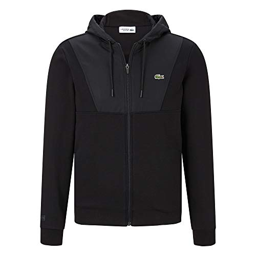 Lacoste Sport Hooded Fleece Zip Sweatjacket - Basic Zip Hooded Sweatshirt