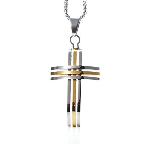 adisaer-edelstahl-halskette-herren-anhanger-silber-gold-linien-kreuz-anhanger-halskette-fur-manner-g