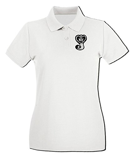 Cotton Island - Polo pour femme TAM0018 cobra design hoodie Blanc