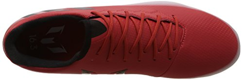 adidas Messi 16.3 Fg, Chaussures de Futsal Homme Rouge (Red/core Black/ftwr White)
