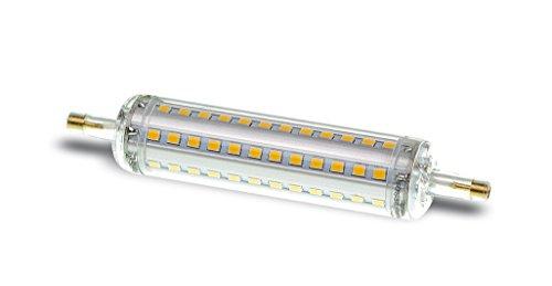 LUMIXON LED R7S 118mm 1200 Lumen – 6000K Kaltweiß – DIMMBAR – Acryl Gehäuse IP44