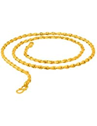 Voylla Stainless Steel Yellow Gold Chain For Men From Dare By Voylla