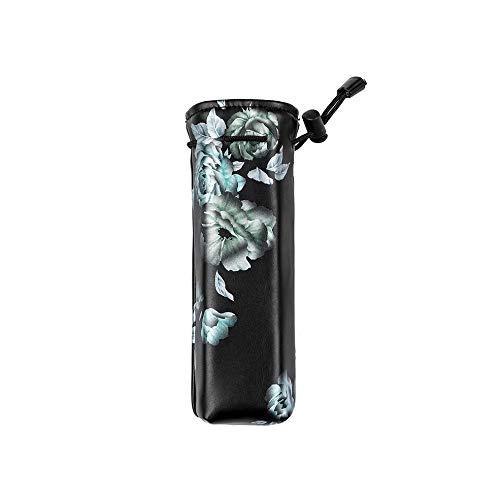 CHOULI Für Dajiang Osmo Tasche Ptz Tasche Kamera Aufbewahrungstasche elektronische Zigarette weiße Blume auf schwarz Ptz-serie