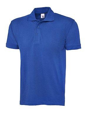 MAKZ Herren Poloshirt Blau - Königsblau