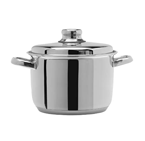 Artame 28 cm 10.8 Litre 18/10 Stainless Steel Nordico Stockpot with Lid