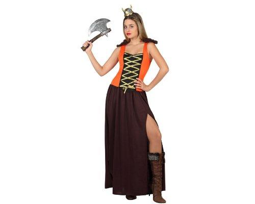 Imagen de atosa  disfraz de vikinga para mujer, talla m/l 22833