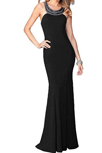 ivyd ressing Femme Haute Qualité Pierres rueckenfrei Étui ligne Party robe Prom Lave-vaisselle robe robe du soir Schwarz
