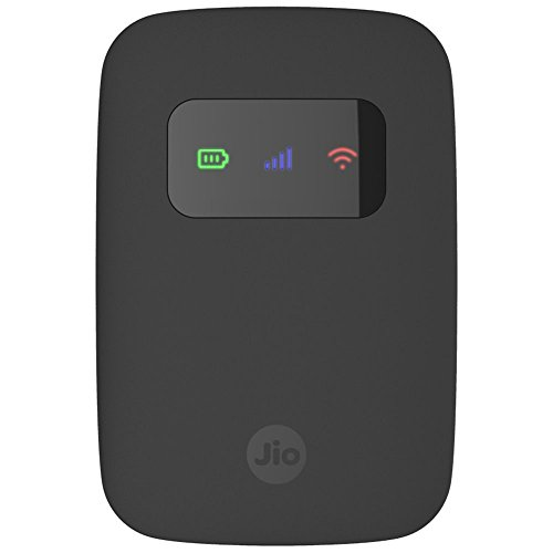 Reliance Jio 4G Router - JioFI3, Black