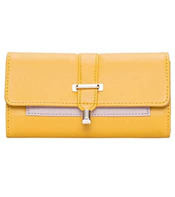 Brie Yellow Wallet