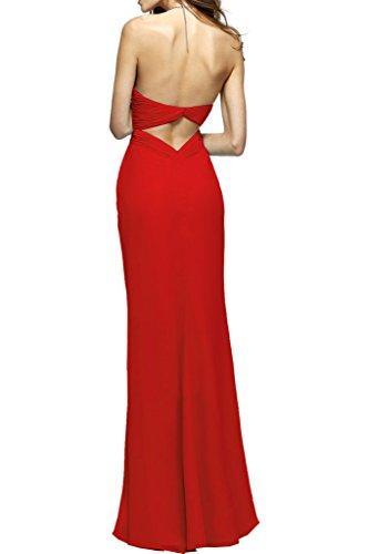 Ivydressing -  Vestito  - linea ad a - Donna Rosso