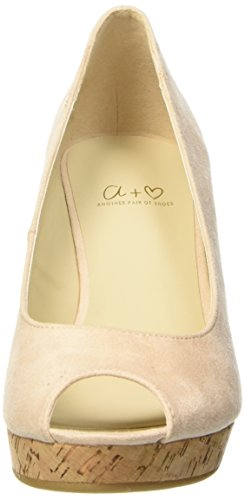 Another Pair of Shoes Wera K, Sandales femme Beige (nude98)
