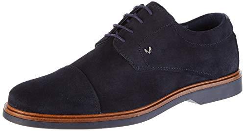 Martinelli Lenny 1384, Zapatos de Cordones Oxford para Hombre, Azul Dark Blue, 40 EU