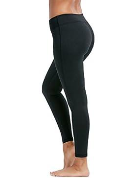 Guiran Mujer Mallas Deportivas Leggins Fitness Yoga Pantalon Elastico Cintura Altura Pantalones Deporte