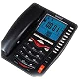 Beetel M75 CLI Corded Phone (Black)