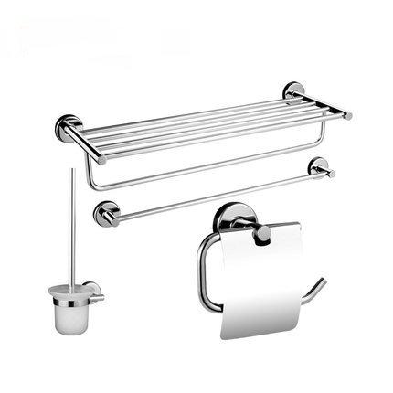 In acciaio inox portasciugamani riscaldato/Pacchetto quattro pezzi pensile bagno/ bagno