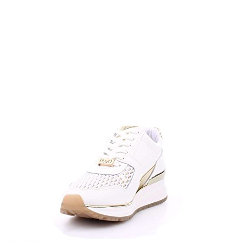 Liu Jo Damen Miyoshi Sneaker White/Gold