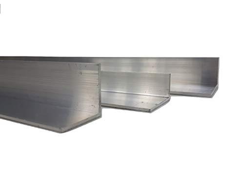 Aluminium Winkel verschiedene Größen, 80 mm x 20 mm x 2 mm x 2000 mm, 1