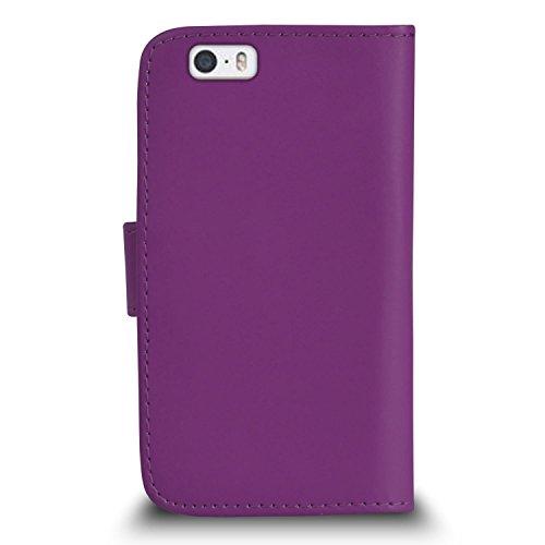 """Apple iPhone 6 / 6S Plus (5.5"""" Inch) Pack 1, 2, 3, 5, 10 Protecteur d'écran & Chiffon SVL0 PAR SHUKAN®, (PACK 10) Portefeuille VIOLET"""