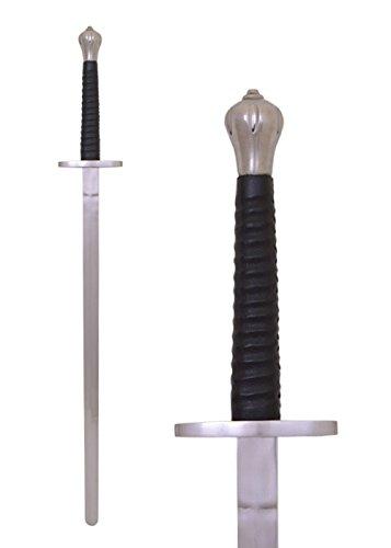 Schwert / Kurzes Kampfschwert, für Schaukampf, SK-C von Battle-Merchant - Mittelalter Echt Metall Schaukampfschwert (Mittelalterliches Schwert Aus Kohlenstoffstahl)
