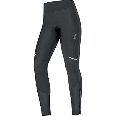 GORE RUNNING WEAR Damen Lange Warme Soft Shell Lauf-Leggings, GORE WINDSTOPPER, MYTHOS LADY 2.0 WS SO Tights, TWSMYL
