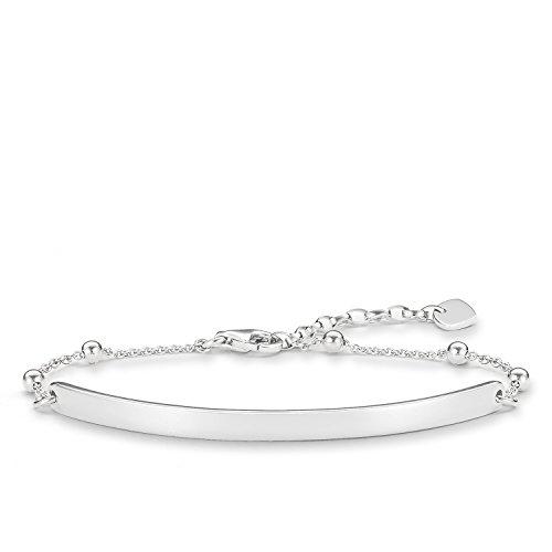 Thomas Sabo Damen-Armband Love Bridge 925 Sterling Silber Länge von 15 bis 18 cm Brücke 5. Preisvergleich