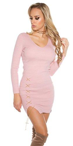 In-Stylefashion -  Vestito  - Donna Rosa scuro