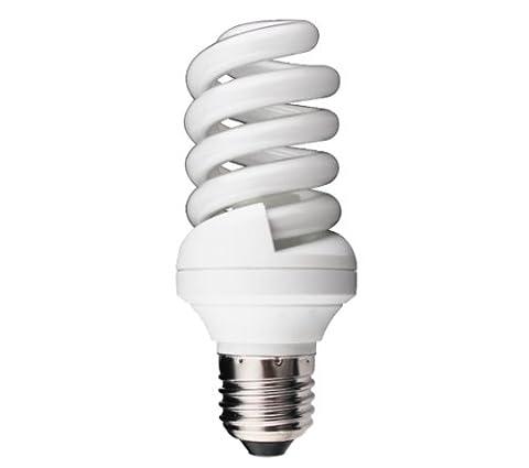 Kosnic E28 20 W 110 V 2700 K Économie d'énergie Lampe Ampoule spirale Sitelight