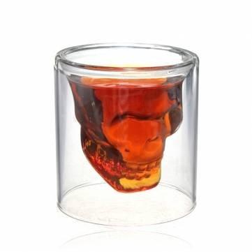 Qualitäts-KristallschädelWodka -Schnapsglas Weinkelch 250ml