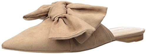The Drop Mules beige