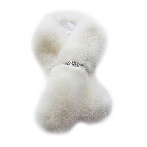 Sciarpa Donna,WINWINTOM Donne Inverno Sciarpe Calda Pelliccia Scialli Strofinare Idratante (Classic Cappello Pin)