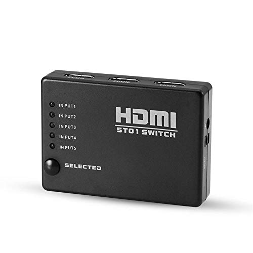 HDMI Splitter Switch 5 in 1 Out HDMI Switcher 5X1 für Xbox 360 PS4/3 Smart Android HDTV 4K *2K 5 Port HDMI Adapter