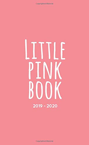 """Little Pink Book 2019-2020: Two-Year Monthly Pocket Planner with Phone Book + Notebook 
