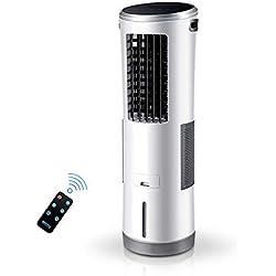 Y&XF Ventilateur Tour climatiseur Mobile Silencieux à Trois Vitesses sans Feuilles et refroidissant à la Maison -85W avec télécommande