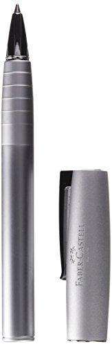 Faber-Castell 149205 – Roller Loom Metallic con cuerpo lacado metálico con forma cónica ergonómica, color plata
