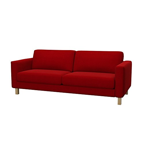 Soferia - IKEA KARLSTAD Funda para sofá Cama de 3 plazas, Elegance...