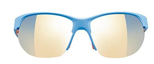 Julbo Breeze Sonnenbrille Damen, Blau Matt/Koralle Zebra