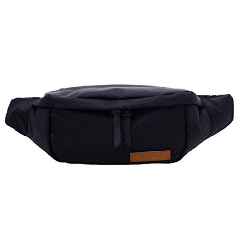 Taschen Wasserdichte Reisetaschen Sportgürtel Reisen Wandern,Black Black