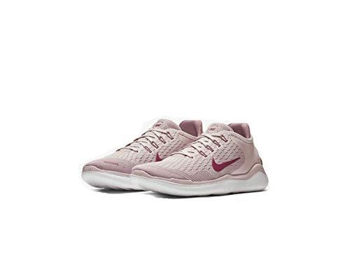 Nike Damen WMNS Free Rn 2018 Leichtathletikschuhe Mehrfarbig Chalk/True Berry/Plum Dust 500, 38 EU