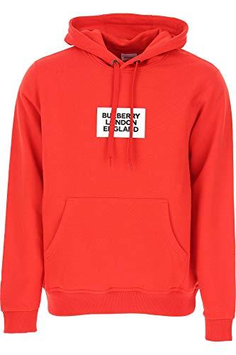 BURBERRY Herren 8013543 Rot Baumwolle Sweatshirt