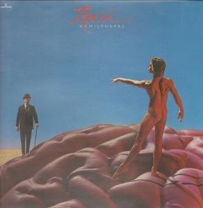 hemispheres LP Rush Vinyl-schallplatten