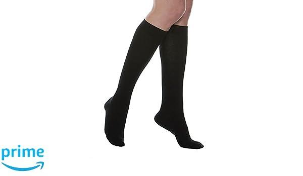 a5771d6f00 MAXAR Medium Black Silver/Cotton Unisex Compression Support Socks:  Amazon.co.uk: Health & Personal Care